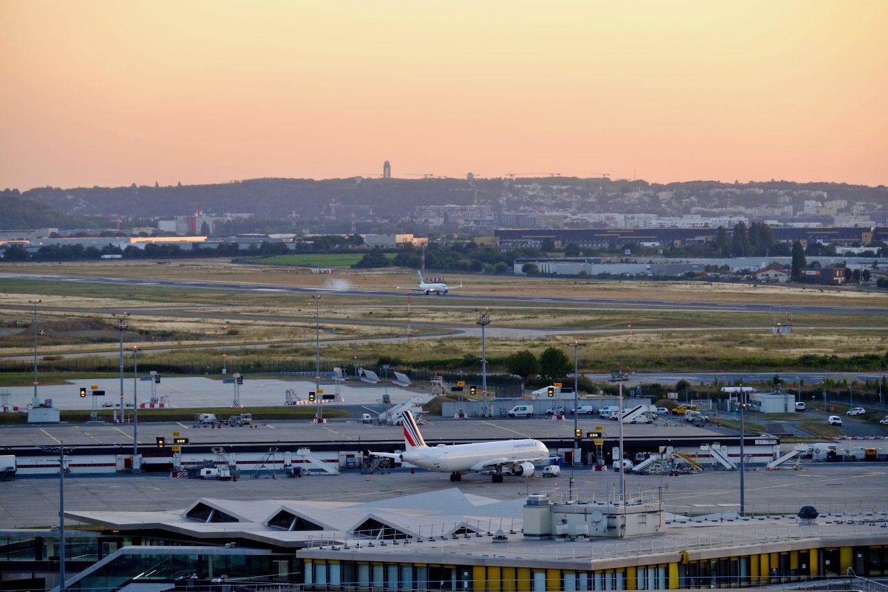 Une vue panoramique depuis la Tour de contrôle