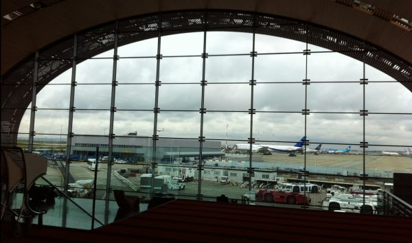 Terminal 2 à l'aéroport de Roissy CDG