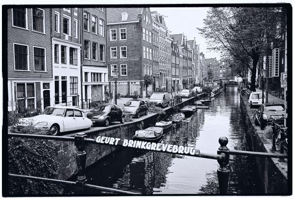 Une DS à Amsterdam l'un des symboles des années 70