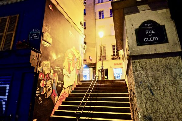 La rue des degrés, l'une des rues les plus insolites de Paris
