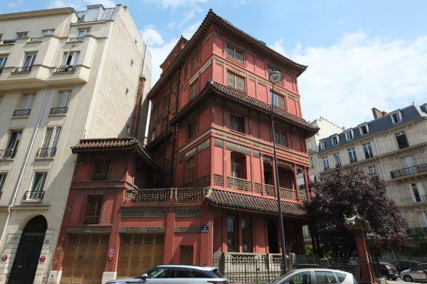 Un bâtiment insolite à Paris