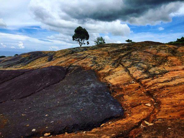 La vallée des couleurs à l'île Maurice