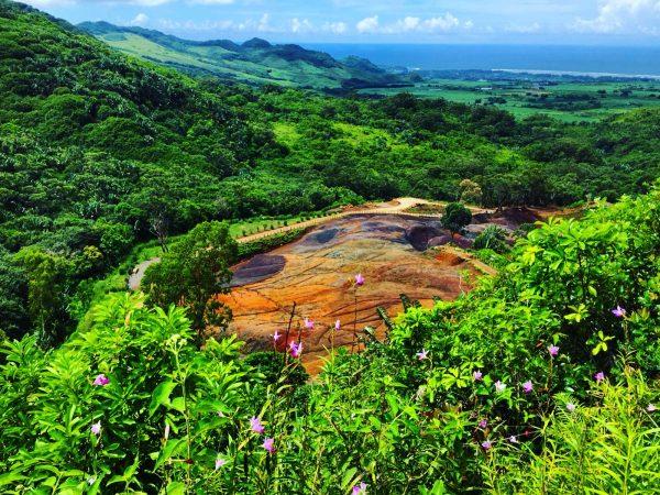 La vallée des couleurs, l'une des choses à faire à l'île Maurice