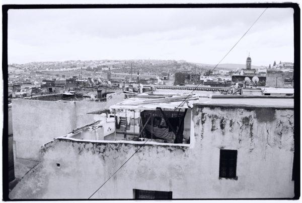 La vue sur les toits de la Médina de Fès