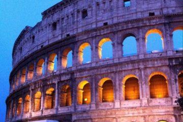 Le Colisée à Rome, l'une des 7 merveilles du monde
