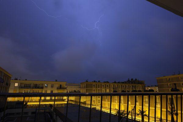 Le Havre le tonerre et l'éclair