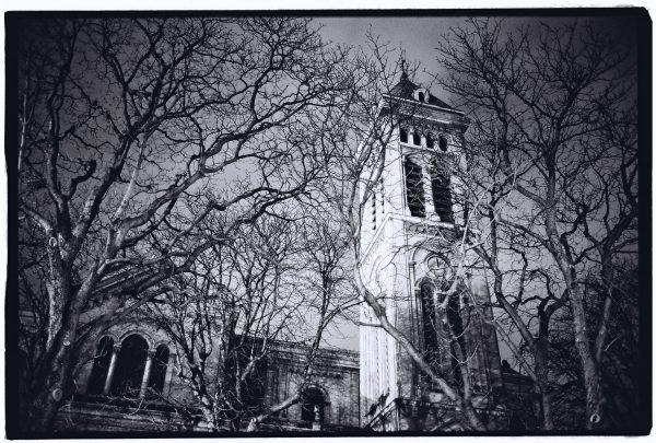Le clocher de Notre Dame des Champs, Paris 6 ème