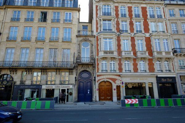 Un immeuble insolite à Paris