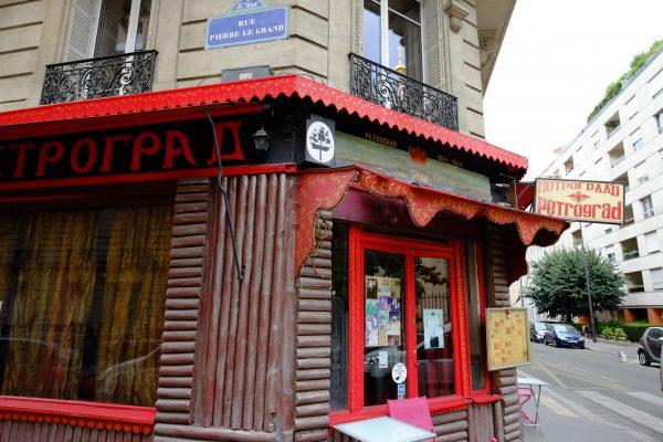 Une isba à Paris, architecture insolite