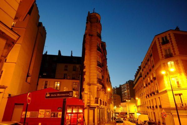 27 rue Francoeur, un immeuble très étroit