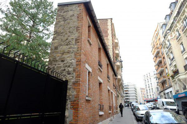 L'un des bâtiments les plus étroit de la capitale rue de la Chine