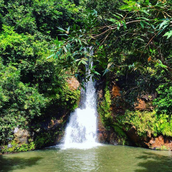 L'une des cascades du parc des gorges de la rivière noire