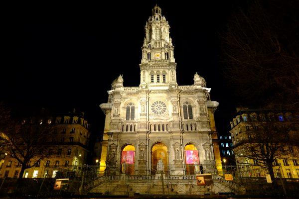 L'une des plus belles églises de Paris est celle de la Sainte Trinité
