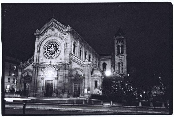 Notre Dame des Champs dans le sud de Paris