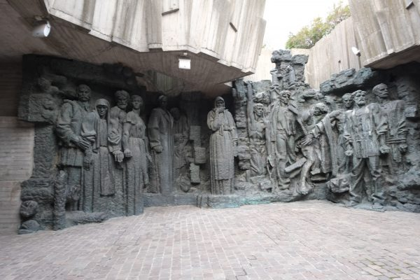Un monument aux morts en Ukraine