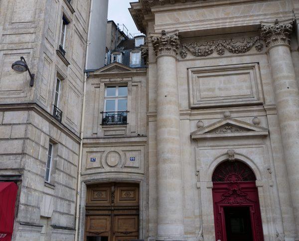 Un autre petit immeuble sur la rue Saint Antoine