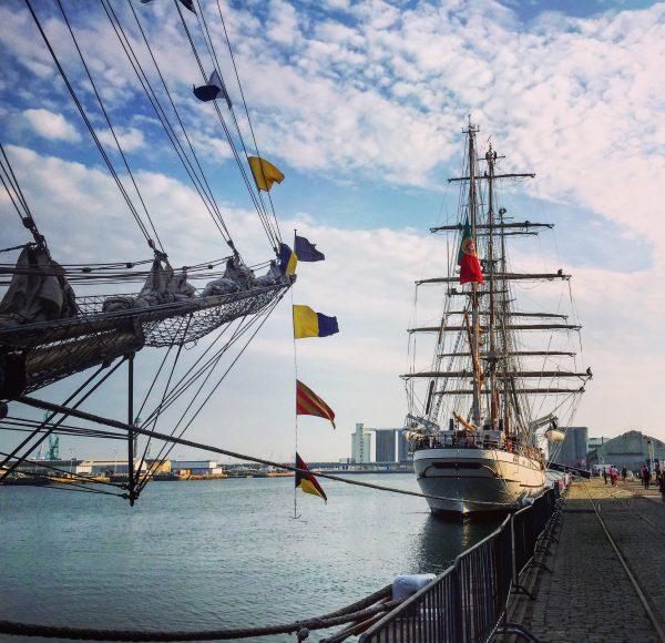 Un rassemblement de vieux gréements au Havre