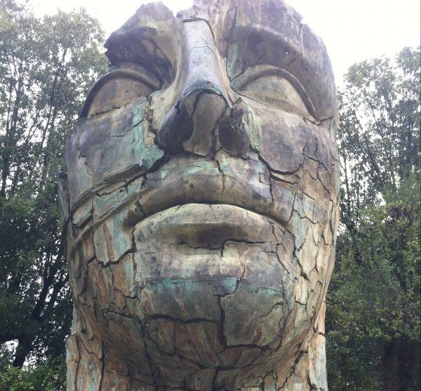 Une sculpture énigmatique à Florence, dans les jardins de Boboli
