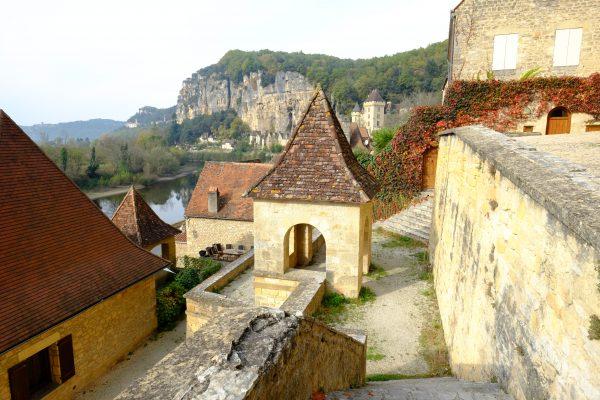Au coeur du village de la Roque Gageac, Périgord