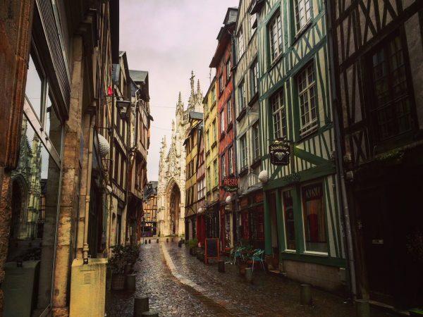 Balade dans le centre historique de Rouen