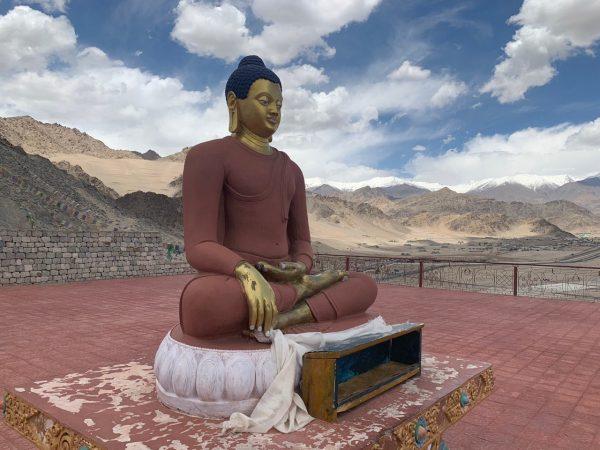 Un Bouddha dans le nord de l'Inde