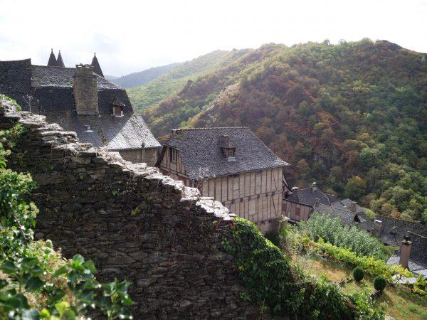Conques l'un des plus beaux villages de France