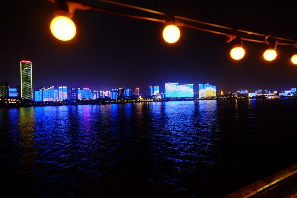 Sur le plus grand fleuve chinois