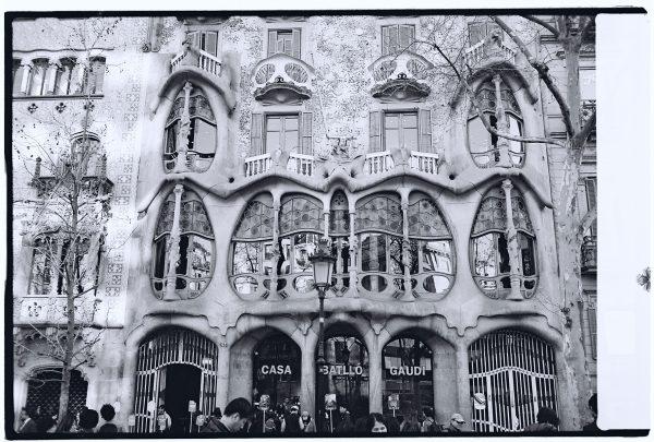 La casa Batllo, un splendide immeuble sur la plus chic avenue de Barcelone