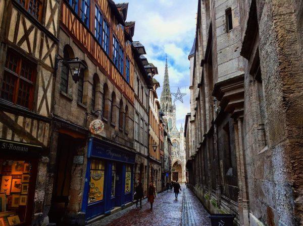 Le quartier historique de Rouen