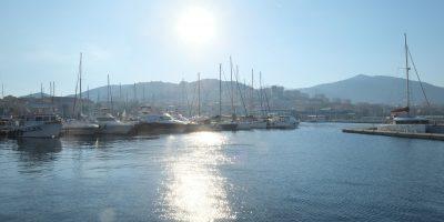 Le port d'Ajaccio en Corse