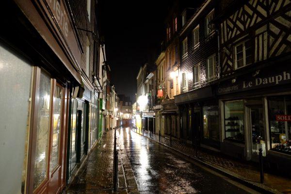 Rue Brûlée à Honfleur