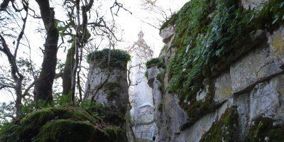 Sur le chemin de croix de Rocamadour, Périgord