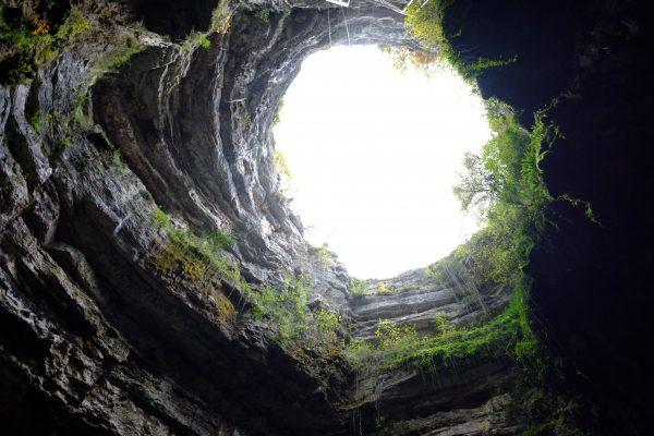 Voyage au centre de la terre, le gouffre de Padirac