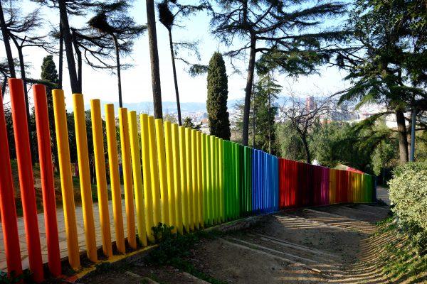Balade sur la colline de Montjuic
