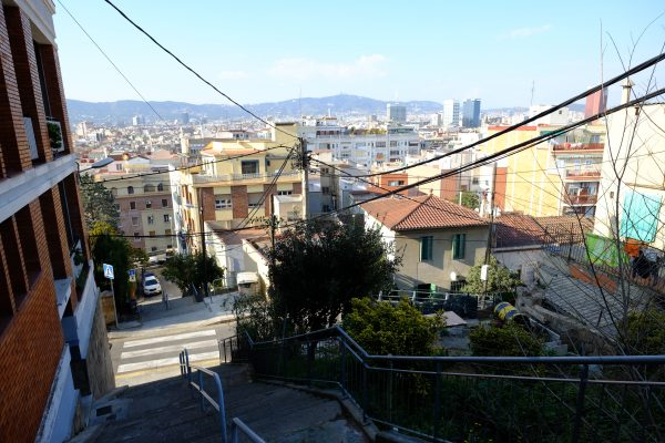 Barcelone vue depuis Montjuic