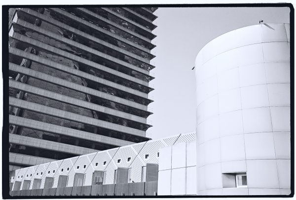 Des immeubles modernes incarnent la nouvelle Barcelone