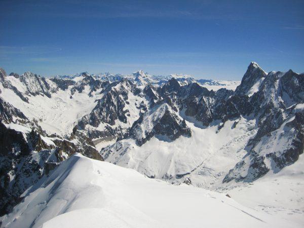 Des montages à perte de vue, destination Chamonix Mont-Blanc