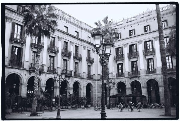 La Place Royale de Barcelone