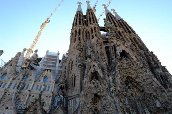 La basilique de la Sagrada Familia à Barcelone