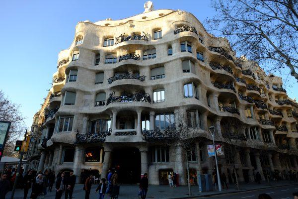 La casa Milà, un immeuble moderne et baroque à Barcelone