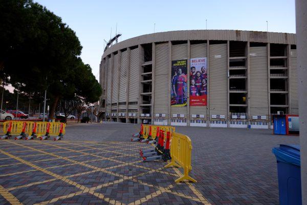 Le Camp Nou à Barcelone un stade mythique