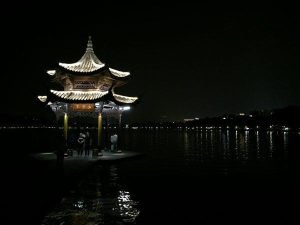 Le lac Ouest à Hangzhou en Chine