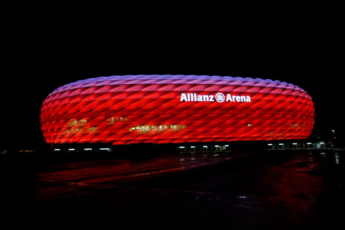 Le stade du Bayern de Munich, l'un des plus grands stades d'Europe