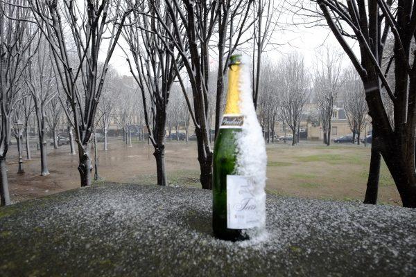 Même sous la neige Paris reste une fête