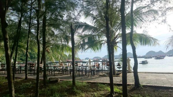 Sur les berges de la baie d'Halong, Vietnam