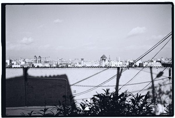 Vue sur la ville depuis Montjuic