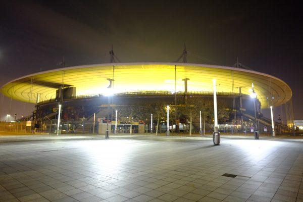 le stade de France à Saint-Denis dans le nord de Paris