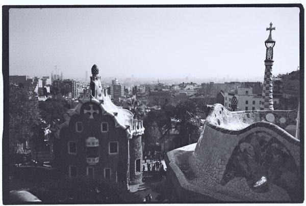 L'une des vues les plus célèbres de Barcelone depuis le Parc Guell