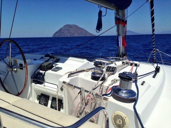 A la découverte des îles éoliennes en catamaran