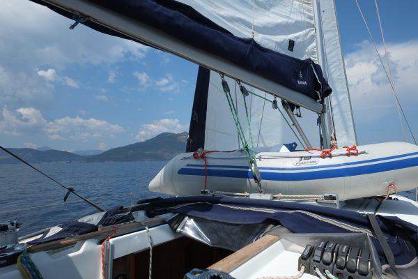 Croisière dans le golfe Saronique en Grèce